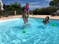 Grand gite avec piscine