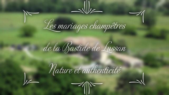 Les mariages champêtres de la Bastide de Lussan