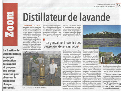 La Bastide de Lussan distille ses lavandes