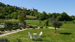 Bastide de Lussan -gîte BELLEVUE