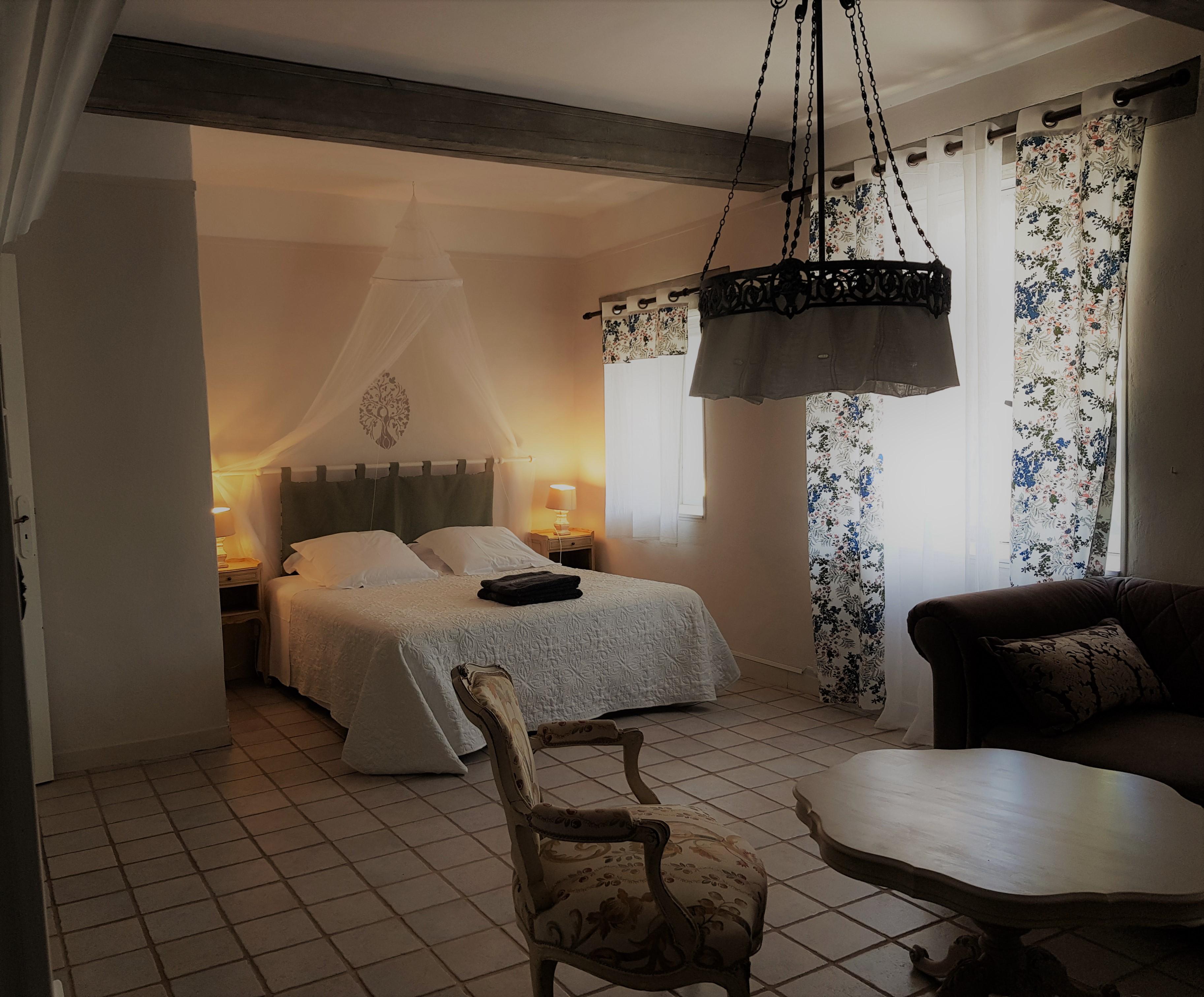 Bastide de Lussan - logement Bellevue 5 Personnes