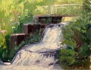 Orquevaux Waterfall
