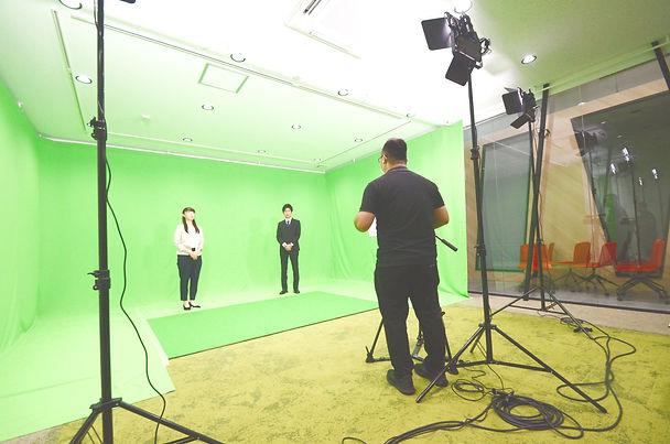 クロマキー撮影 スタジオ