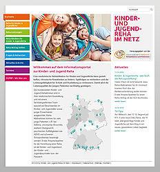 Informationsportal zur Kinder- und Jugendreha gestartet