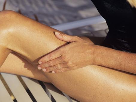 Straffe Haut dank manueller Lymphdrainage
