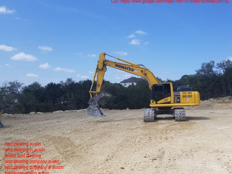 Reasons Why Austin, Texas Land Clearing Companies Are Needed