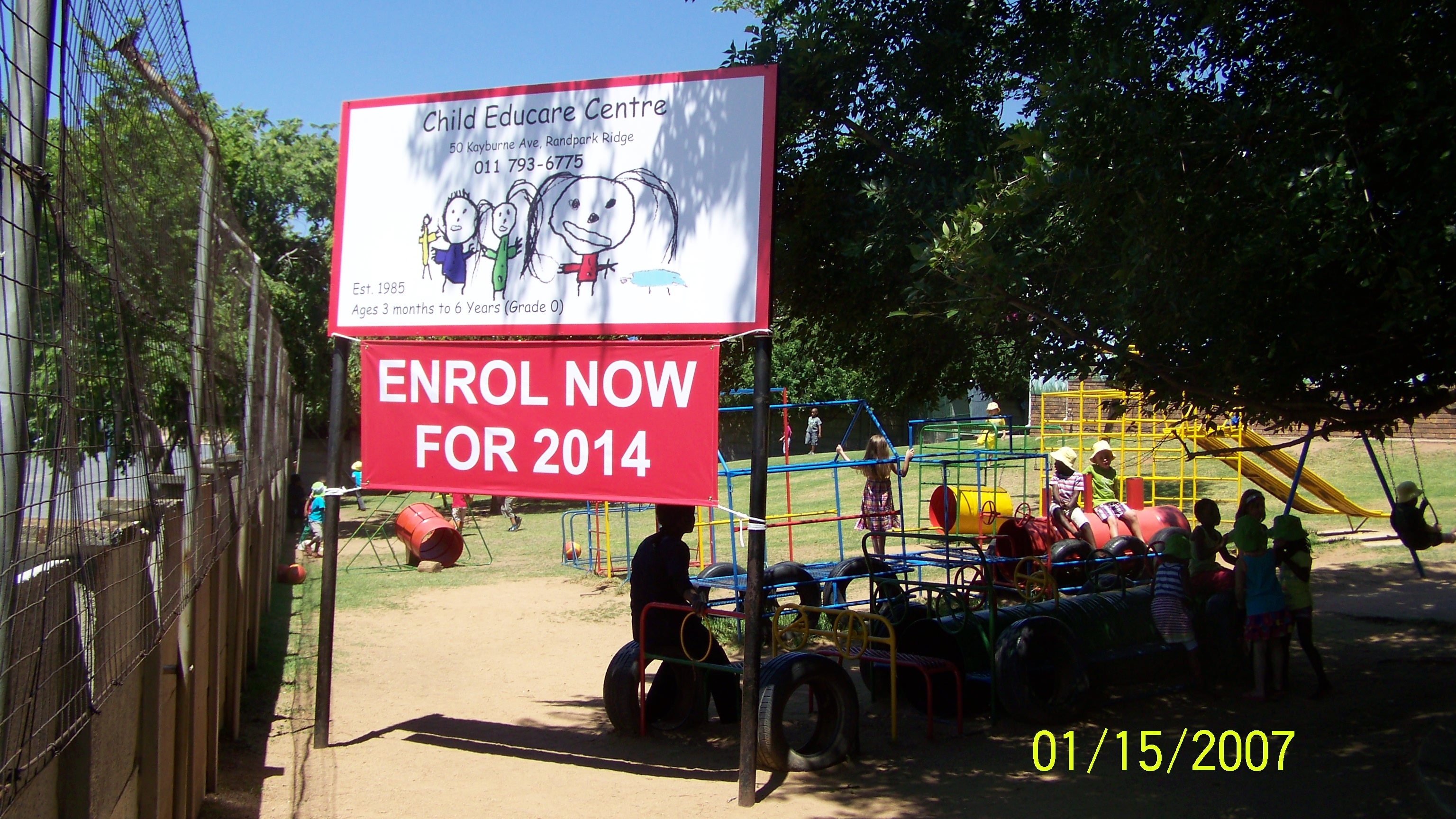 Child Educare Signage