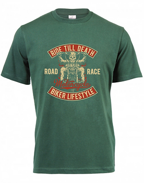 Platinum T-Shirt Ride Till Death