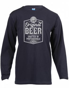 Long Sleeve T-Shirt Black Original Beer