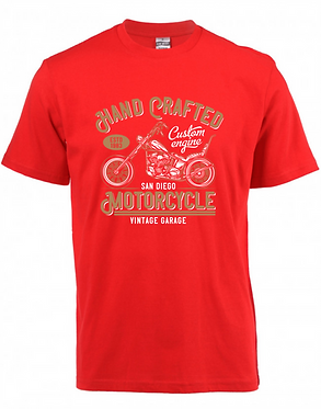 Platinum T-Shirt Handcrafted Motorcycle