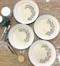 process flower plates