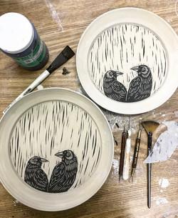 process raven plates