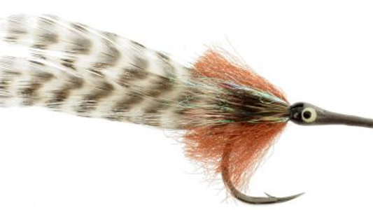 Big Eye Tarpon Brown / Grizzly #1/0