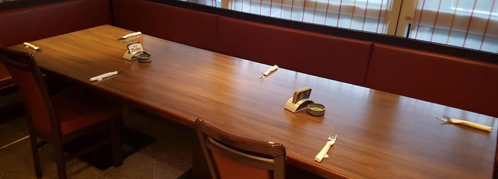 Tischbelegung