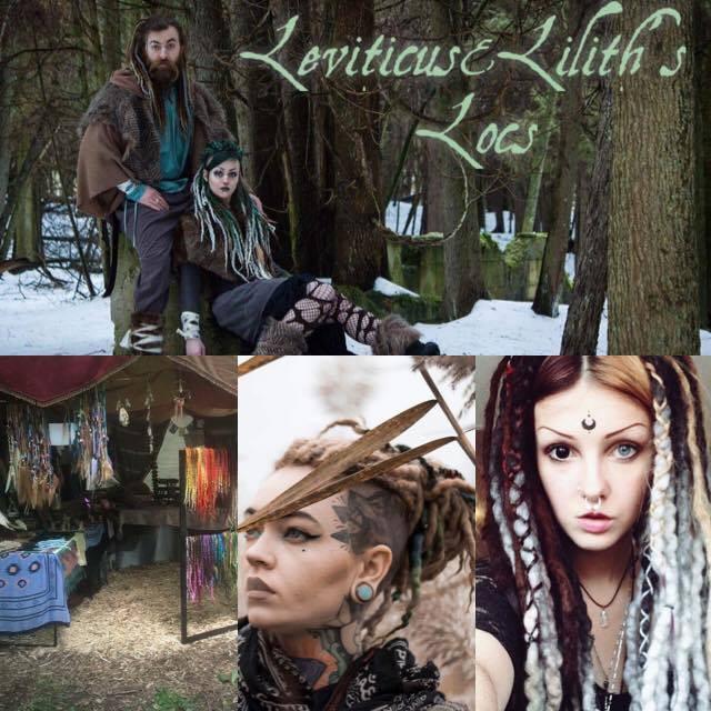 Leviticus & Lilith's Locs