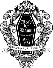 Dead by Dawn Dead & Breakfast logo