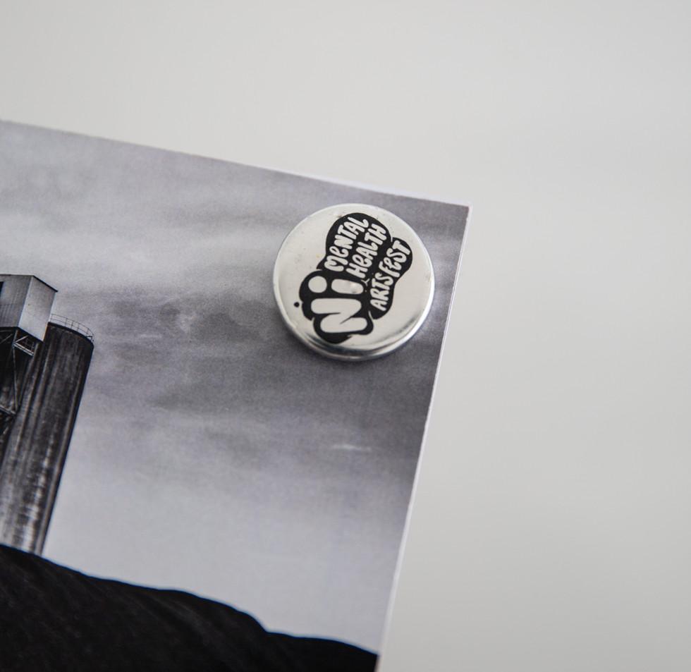 Black and chrome NIMHAF Badge