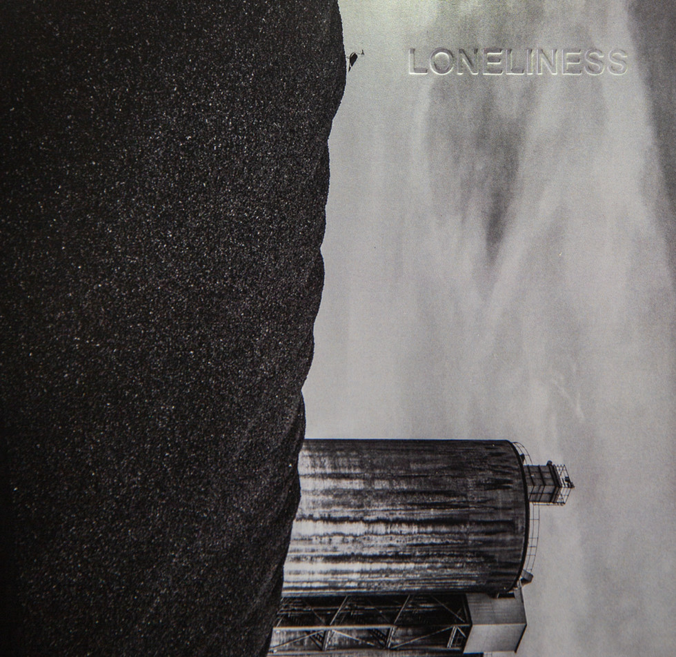 Loneliness debossed