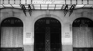 Prince De Galles Hotel, Paris, France.pn