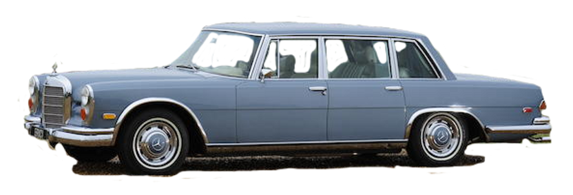 1970 Mercedes Benz 600 Saloon Limousine.