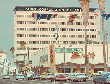 RCA 6363 Sunset Boulevard, Los Angeles,
