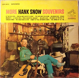 More Hank Snow Souvenirs