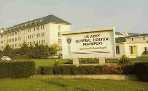 97th US Army Hospital, Frankfurt, German