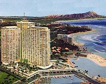 Ilikai Hotel, Waikiki, Honolulu, Hawaii.