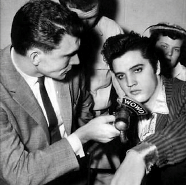 Bob Chase on WOWO Radio with Elvis 3-30-
