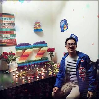 We celebrate the birthday of Brother Haoran!