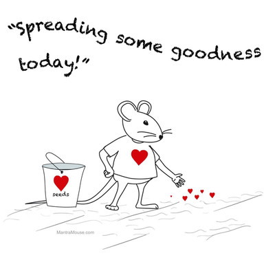 Spreading Goodness