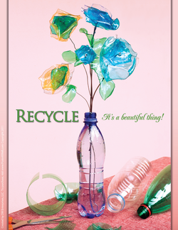 Recycling is a beautiful thing!