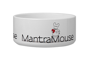 MantraMouse Pet Bowls and Dog Dish