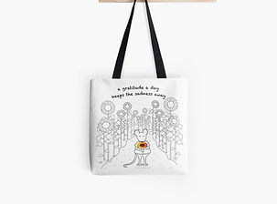 MantraMouse Tote Bags and Satchels