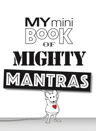 My Mini Book of Mighty Mantras Cover