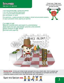 Food/Mood Recipe Sample Page