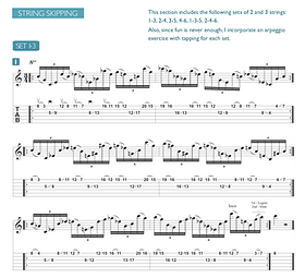 Arpeggios, Tapping