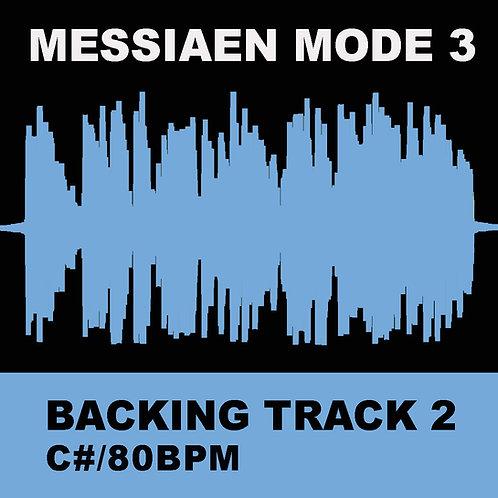 Messiaen Mode 3 - Backing Track 2 (C# 80bpm)