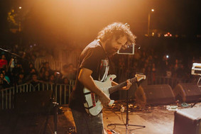 Playing with Horeja at Isla de Maipo, 2017