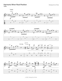 Harmonic Minor Root (1234) page 1