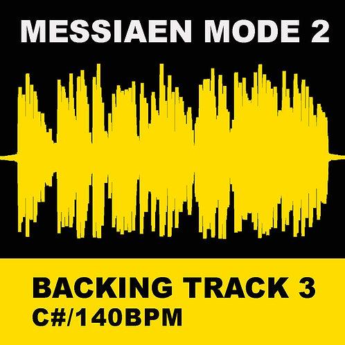 Messiaen Mode 2 - Backing Track 3 (C# 140bpm)