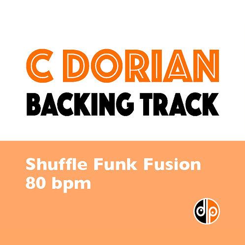 Shuffle Funk Fusion Backing Track - C Dorian