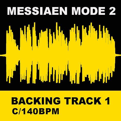 Messiaen Mode 2 - Backing Track 1 (C 140bpm)