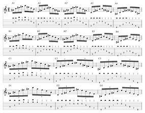 Arpeggios Messiaen