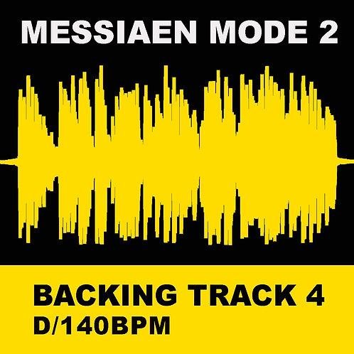 Messiaen Mode 2 - Backing Track 4 (D 140bpm)