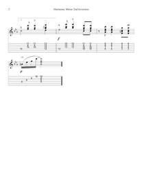 Harmonic Minor 2nd inversion (1234) page 2