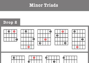 Minor Triads - Drop 2