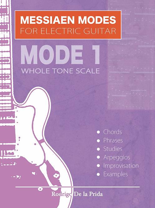 Messiaen Modes for Electric Guitar - Mode 1