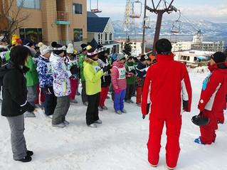 高2 スキー実習1日目