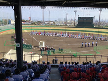 第66回 全国私立高等学校女子ソフトボール選抜大会 開会式